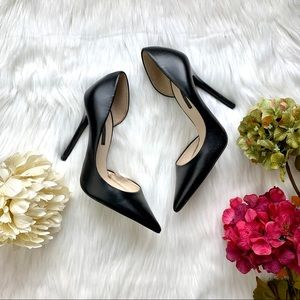 Zara Pointy Toe Pump Black Size 6